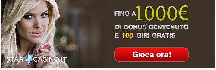 Nuovi casino bonus senza deposito