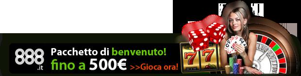 888 gli esperti dei casino online con i migliori bonus